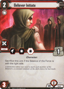 The Initiates will desert you if you can't keep the Force, but with two objective damage icons, they're great at closing games.