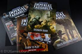 Imperial Assault comes with four rulebooks. Don't let that scare you away from the game. Image from d12games.guru. .