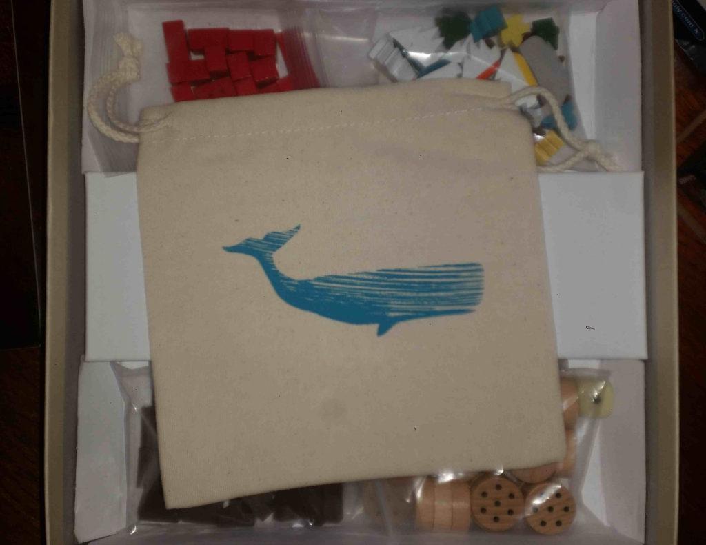 The whale bag.